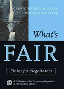 What's Fair 1st edition 9780787969165 0787969168