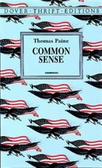 Common Sense 1st Edition 9780486296029 0486296024