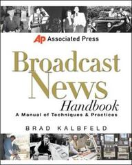 Associated Press Broadcast News Handbook 1st Edition 9780071363884 0071363882
