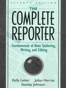 The Complete Reporter 7th Edition 9780205295869 020529586X
