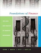 Foundations of Finance 5th edition 9780131856059 0131856057