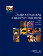 Gregg College Keyboarding & Document Processing (GDP), Lessons 1-60 text 10th edition 9780072963410 0072963417