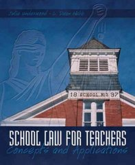 School Law for Teachers 1st Edition 9780131192423 0131192426