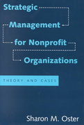 Strategic Management for Nonprofit Organizations 1st Edition 9780195085037 0195085035