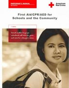 First Aid/CPR/AED for Schools And the Community 3rd Edition 9781584803003 1584803002