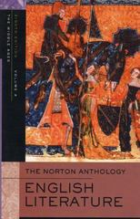 The Norton Anthology of English Literature 8th Edition 9780393927177 0393927172