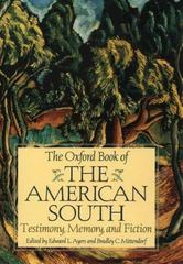 The Oxford Book of the American South 1st Edition 9780195124934 0195124936