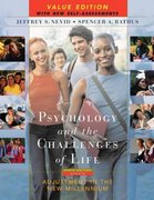 Psychology and the Challenges of Life 9th edition 9780471717881 0471717886