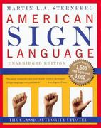 American Sign Language Dictionary Unabridged 1st Edition 9780062716088 0062716085