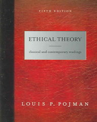 Ethical Theory 5th edition 9780495006718 0495006718