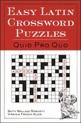 Easy Latin Crossword Puzzles 1st edition 9780844284460 0844284467