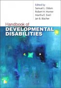 Handbook of Developmental Disabilities 1st Edition 9781593854850 1593854854