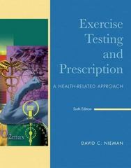 Exercise Testing & Prescription 6th edition 9780073044743 0073044741