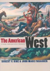 The American West 1st Edition 9780300078350 0300078358