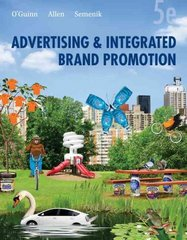 Advertising and Integrated Brand Promotion 5th edition 9780324568622 0324568622