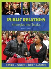 Public Relations: Strategies and Tactics 9th edition 9780205581481 020558148X
