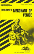 CliffsNotes on Shakespeare's The Merchant of Venice 1st edition 9780822000525 0822000520