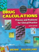 Drug Calculations 6th edition 9780323010047 0323010040