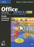 Microsoft Office 2003: Brief Concepts and Techniques 2nd edition 9781418859497 1418859494