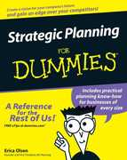 Strategic Planning For Dummies 1st edition 9780470037164 0470037164