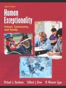 Human Exceptionality 8th Edition 9780205406012 0205406017