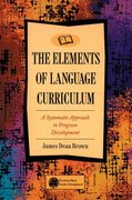 Elements of Language Curriculum 1st edition 9780838458105 0838458106