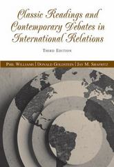 Classic Readings and Contemporary Debates in International Relations 3rd edition 9780534631895 0534631894
