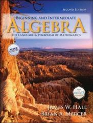 Beginning and Intermediate Algebra 2nd edition 9780073229713 0073229717