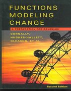 Functions Modeling Change Precalculus 2nd edition 9780471474296 0471474290