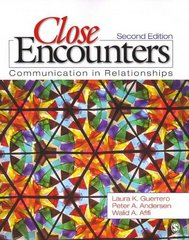 Close Encounters 2nd edition 9781412949538 141294953X