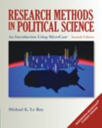 Research Methods in Political Science: An Introduction Using MicroCase ExplorIt 7th edition 9780495502838 0495502839