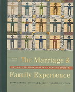 The Marriage & Family Experience 9th edition 9780534609306 0534609309