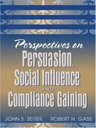 Perspectives on Persuasion, Social Influence, and Compliance Gaining 1st edition 9780205335237 0205335233