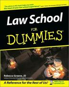 Law School For Dummies 1st Edition 9780764525483 0764525484