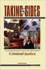Taking Sides: Clashing Views in Criminal Justice 1st Edition 9780072828177 007282817X