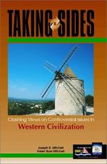Taking Sides: Clashing Views on Controversial Issues in Western Civilization 1st edition 9780072371550 0072371552