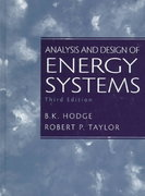 Analysis and Design of Energy Systems 3rd Edition 9780135259733 0135259738