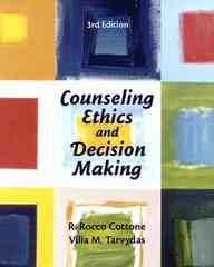 Counseling Ethics and Decision-Making 3rd edition 9780131710054 0131710052