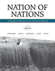 Nation of Nations: A Narrative History of the American Republic 6th edition 9780073406848 0073406848