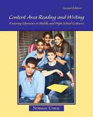 Content Area Reading and Writing 2nd edition 9780132298544 0132298546
