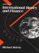 International Money and Finance 6th edition 9780321050519 0321050517