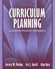 Curriculum Planning 8th edition 9780205449606 0205449603