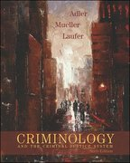 Criminology and the Criminal Justice System 6th edition 9780073124476 0073124478