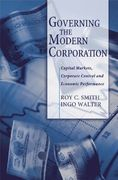 Governing the Modern Corporation 0 9780195171679 0195171675
