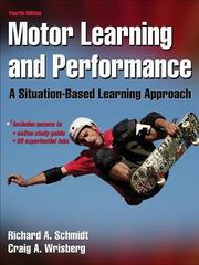 Motor Learning and Performance 4th edition 9780736069649 073606964X