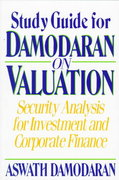 Damodaran on Valuation, Study Guide 1st edition 9780471108979 0471108979