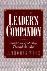 The Leader's Companion 1st Edition 9780028740911 0028740912