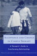 Acceptance and Change in Couple Therapy 1st Edition 9780393702903 0393702901