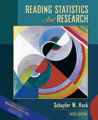 Reading Statistics and Research 5th edition 9780205510672 0205510671