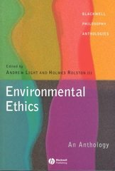 Environmental Ethics 1st edition 9780631222941 0631222944